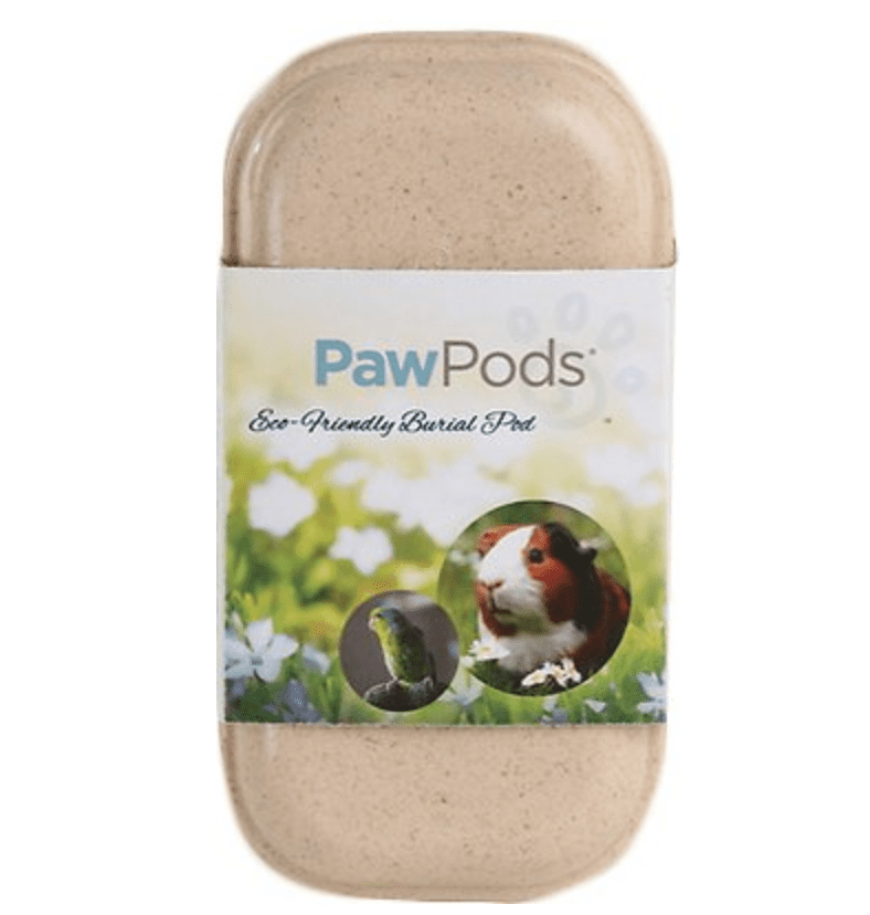 paw pods mini pet casket
