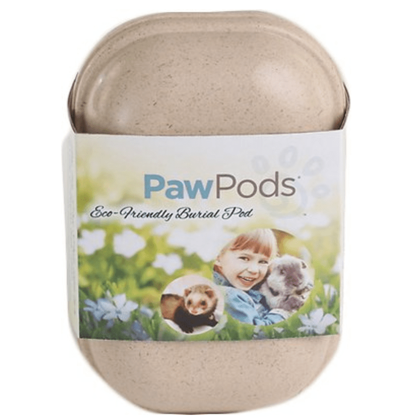 pawpods small pet casket